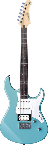 Yamaha PAC112V Electric Guitar Sonic Blue with Push-Pull Coil Tap Switch