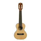 Kala KA-GL-E Lightweight and Portable Satin Mahogany 6 String Guitarlele with Built-in tuner Preamp and EQ