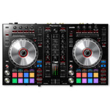 Pioneer DJ DDJ-SR2 4 Deck Serato DVS compatible Bus powered 4 deck Digital DJ Controller with 2 channel Mixer, 4 channel USB Audio Interface