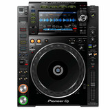 """Pioneer DJ CDJ-2000NXS2 Professional Multi Player DJ CD Player with 7"""" Multicolor Touchscreen, 4 Hot Cue Buttons, Platter Controls, Extensive Media Format Support in Black"""