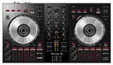 Pioneer DJ DDJ-SB3 2 deck Serato Full Featured Digital DJ Controller with Onboard Audio Interface, Built-in Filtering and Serato DJ Intro Software