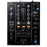 Pioneer DJ DJM-450 2-Channel DJ Mixer with Onboard 24-bit Audio Interface,3-Band EQs, Magvel Faders and Sound Color FX