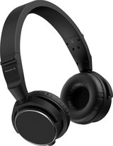 Pioneer DJ HDJ-S7-K Closed-back Supra-aural On Ear Professional DJ Headphone with 40mm Drivers (Includes Detachable Cable and Carry Pouch) - Black