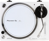 Pioneer Pro DJ PLX-500-W Direct Drive Turntable with Preamplifier, USB Output , Headshell with Cartridge and Stylus - White