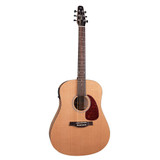 Seagull Guitars S6 Classic M-450T 6 string Acoustic electric Guitar with Cedar Top, Cherry Back and Sides,B-Band Electronics with Built-in Tuner in Natural