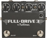 Fulltone Fulldrive 3 Guitar Boost/Overdrive Pedal with Boost-order Switch and Selectable Voicings