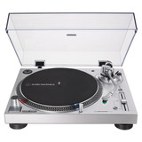 Audio Technica AT-LP120XUSB Direct-Drive Professional Turntable (USB & Analog) - Silver