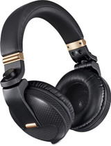 Pioneer DJ HDJ-X10C Limited Edition Professional DJ Headphone with Premium Design Carbon Fiber Ear Cup Housing, Luxury Black Body and Gold Color Accents