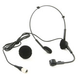 Audio-Technica PRO 8HEcW  Wireless Bodypack Transmitters Headworn Microphone With Hypercardioid Polar Pattern And Windscreen
