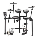 RolandV-Drums TD-1DMK 5-Piece Electronic Drum Set with Mesh Heads, 3 x Cymbals, and TD-1 Sound Module