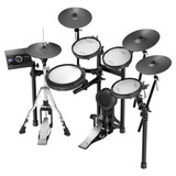 Roland V-Drums TD-25KVX 5-piece Electronic Drum Set with Mesh Heads, 4 Cymbals and TD-25 Sound Module