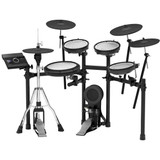 Roland V-Drums TD-17KVX 5-piece Electronic Drum Set with Mesh Heads, 4 x Cymbals and TD-17 Sound Module