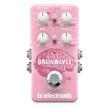 TC Electronic Brainwaves Pitch Shifter Pedal with Switchable True/Buffered BypassHarmonizer, Doubler and Octaver Functions