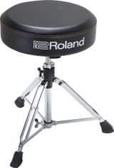 Roland RDT-RV Drum Throne with Oversized Round seat and Rugged Binyl Top