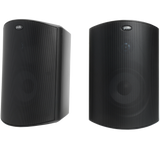 Polk Audio Atrium 6 All-Weather Outdoor Speakers (Pair) with Bass Reflex Enclosure, Broad Sound Coverage and Speed-Lock Mounting System - Black