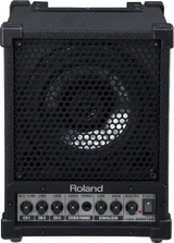 "Roland CM-30 Travel-Ready Cube Monitor with 30-Watt Amp, 6.5"" Two-Way Speaker and 3-Channel Mixer (each) - Black"