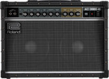 "Roland JC-40 Jazz Chorus 40-watt 2x10"" Stereo Combo Amp with Distortion, Vibrato, Chorus, Reverb, Effects Loop, Line Out, and Stereo Inputs - Black"