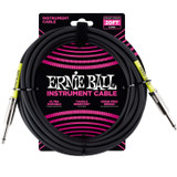 Ernie Ball P06046 Classic 20' Straight Angle Instrument Cable - Black