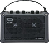 "Roland Mobile Cube 5-watt 2x4"" Battery Powered Guitar Combo Amplifier with Built-in Effects - Black"