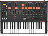 Behringer ODYSSEY Analog Synthesizer with 37 Full-Size Keys and Dual VCOs - Black