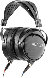 Audeze LCD-XC Over Ear Closed Back Headphone, Carbon Weave earcups with Suspension Headband, Creator Edition with Economy Carry case – New 2021 Version