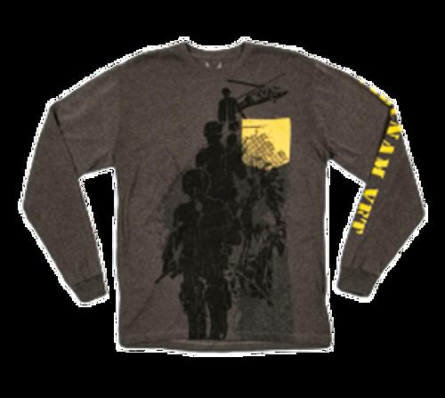 Made in the USA: Vietnam Veteran Long Sleeve Pocket T-shirt