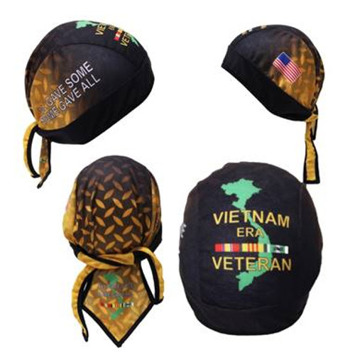 Vietnam Veteran Motorcycle Headwrap