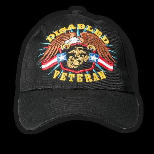 US Marines Disabled Veteran Cap
