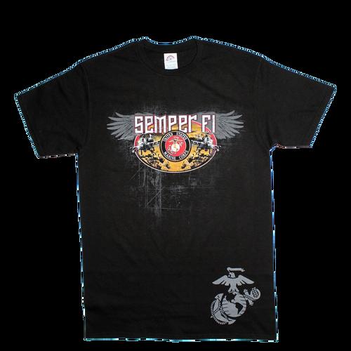US Marines Graphic T-shirt