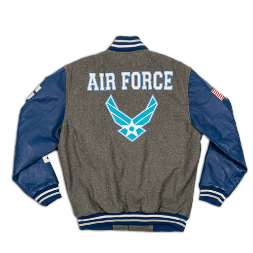 US Air Force Leather Varsity Jacket