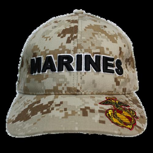Made in the USA: US Marines Digital Camo Cap