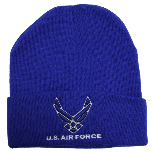 US Air Force Embroidered Logo Beanie