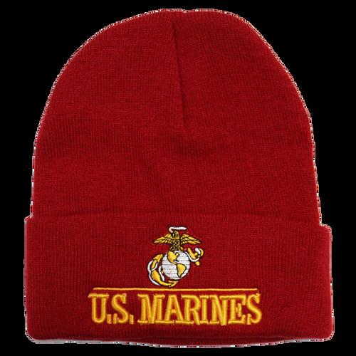 US Marines Embroidered Logo Beanie
