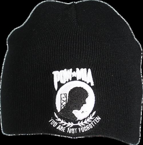 US POW / MIA Embroidered Logo Beanie