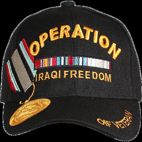 Operation Iraqi Freedom Veteran Medal Cap