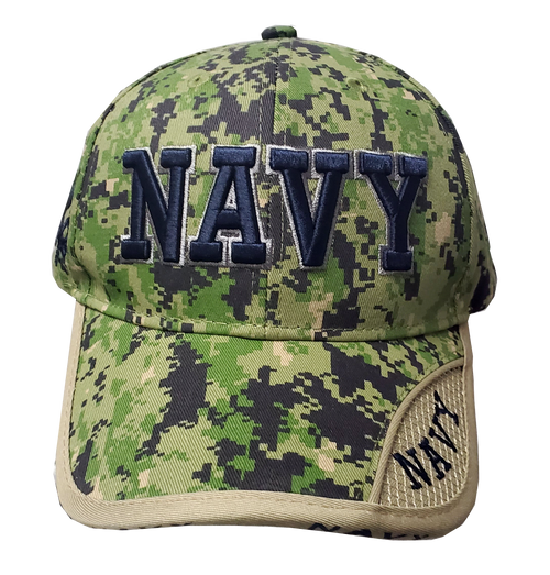 US Navy Digital Camo Cap