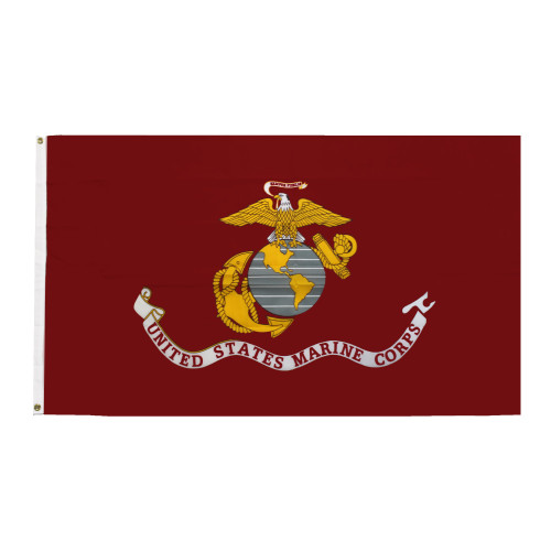 US Marines Patriotic Flag