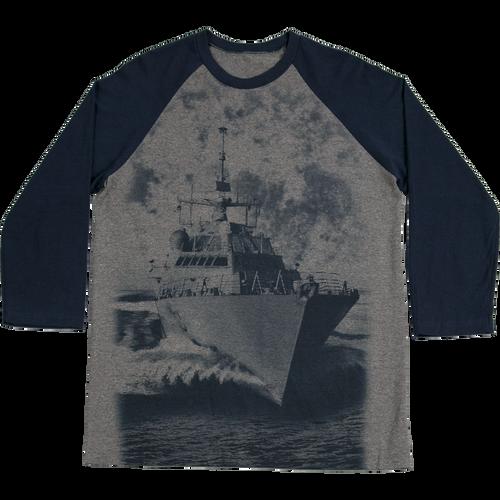 Made in the USA: US Navy Baseball T-shirt