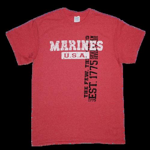 US Marines Vintage Wash T-shirt