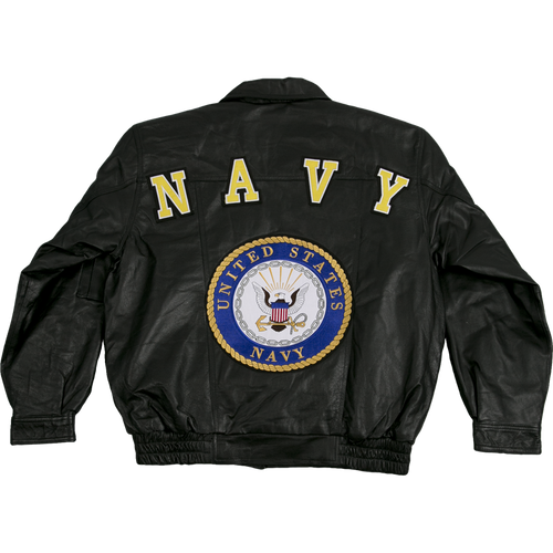 US Navy Leather Jacket
