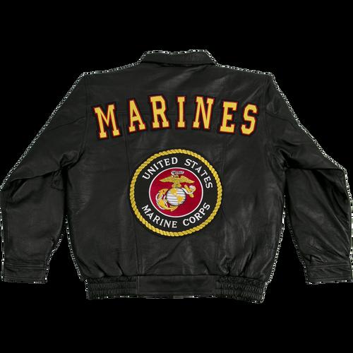 US Marines Leather Jacket
