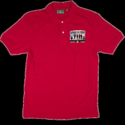Red Friday Golf Shirt