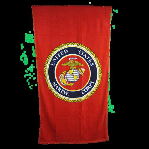 US Marines Beach Towel