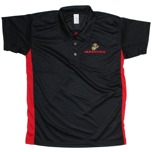 Made in the USA: US Marines Performance Polo Shirt