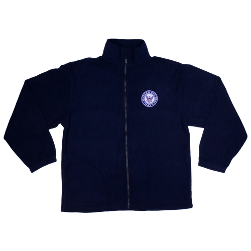 Made in the USA: US Navy Fleece Zip-up Jacket