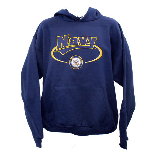 US Navy Banner Hooded Sweatshirt