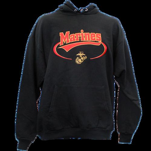US Marines Banner Hooded Sweatshirt