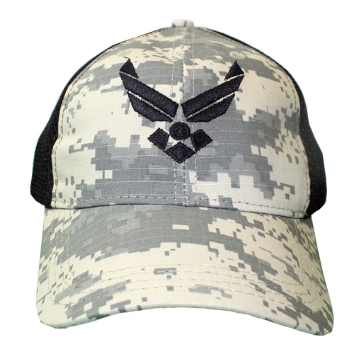 Made in the USA: US Air Force Digital Camo Mesh Cap