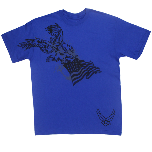 Made in the USA: US Air Force Eagle Flag T-shirt