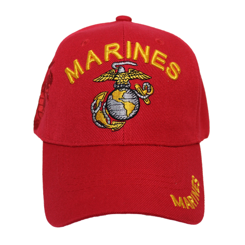 US Marines Red Shadow Embroidery Cap
